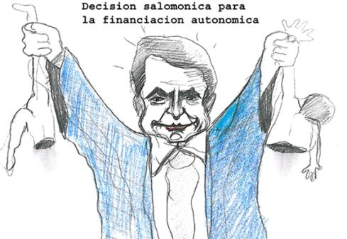 decision salomónica para la financiacion autonomica